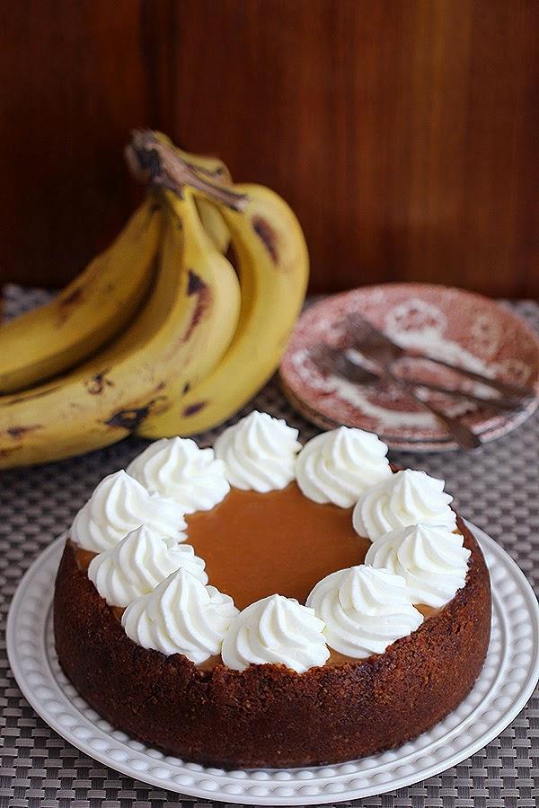 רפובליקת בננות   (או עוגת גבינה של בננות בקרמל)