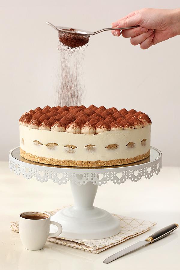 עוגת קרם טירמיסו, ללא אפייה