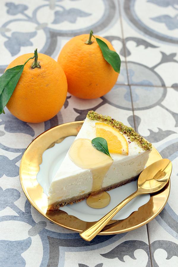 עוגת גבינה ויוגורט יווני