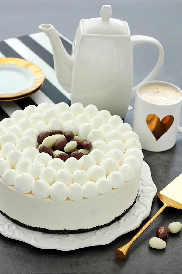 טבעת גבינה ושוקולד לבן עם מפל קליק חבוי